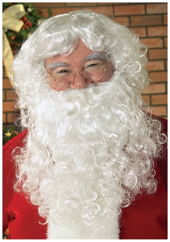 Click Here to buy Santa Wig and Beard from HalloweenCostumes, CDN Funds & Shipping
