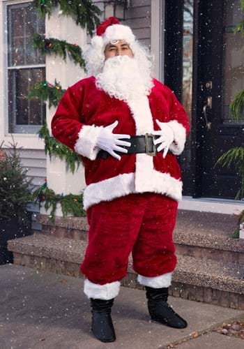 Plus Size Regal Santa Suit Costume
