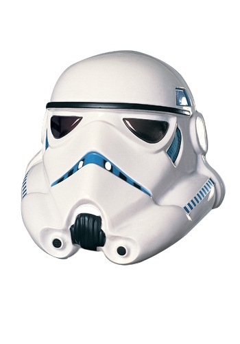 Click Here to buy Stormtrooper Mask PVC from HalloweenCostumes, CDN Funds & Shipping