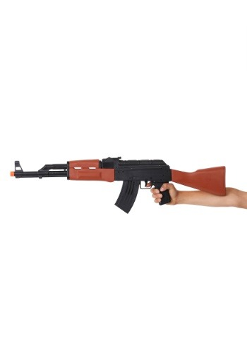 Click Here to buy Toy AK-47 Machine Gun -Military Costume Toy Weapon Accessories from HalloweenCostumes, CDN Funds & Shipping