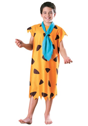 Click Here to buy Kids Fred Flintstone Costume from HalloweenCostumes, CDN Funds & Shipping