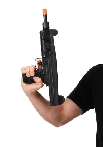 Click Here to buy Toy Uzi 9mm Machine Gun from HalloweenCostumes, CDN Funds & Shipping