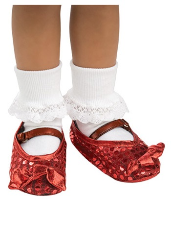Click Here to buy Kids Ruby Shoe Covers from HalloweenCostumes, CDN Funds & Shipping