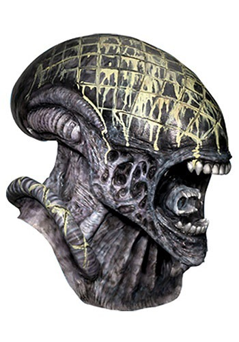 Click Here to buy Deluxe Latex Alien Mask from HalloweenCostumes, CDN Funds & Shipping