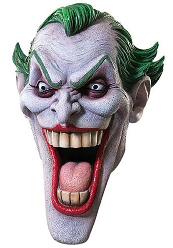 Click Here to buy Deluxe Joker Mask from HalloweenCostumes, CDN Funds & Shipping