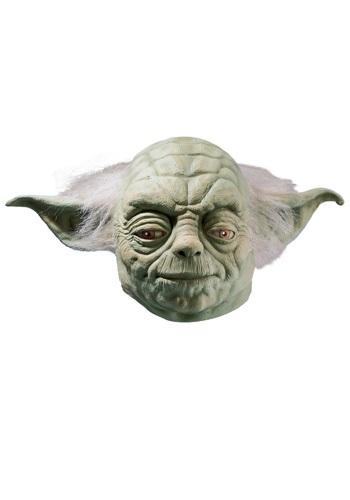 Click Here to buy Deluxe Yoda Latex Mask from HalloweenCostumes, CDN Funds & Shipping