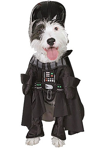 Click Here to buy Darth Vader Dog Costume from HalloweenCostumes, CDN Funds & Shipping