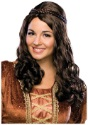 Renaissance Girl Brown Wig