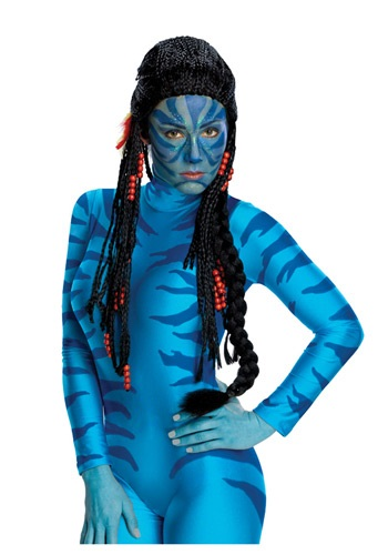 Click Here to buy Avatar Neytiri Wig from HalloweenCostumes, CDN Funds & Shipping