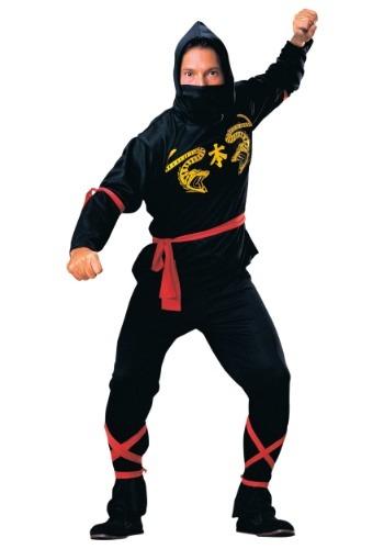 Click Here to buy Mens Ninja Costume - Classic Ninja Adult Costumes from HalloweenCostumes, CDN Funds & Shipping