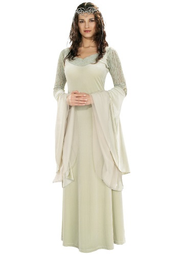Click Here to buy Deluxe Queen Arwen Costume from HalloweenCostumes, CDN Funds & Shipping