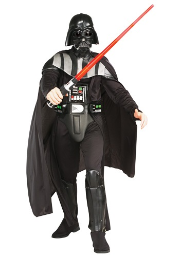 Click Here to buy Deluxe Adult Darth Vader Costume from HalloweenCostumes, CDN Funds & Shipping