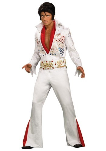 Click Here to buy Adult Deluxe Elvis Presley Costume from HalloweenCostumes, CDN Funds & Shipping