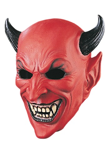Click Here to buy Deluxe Devil Mask from HalloweenCostumes, CDN Funds & Shipping