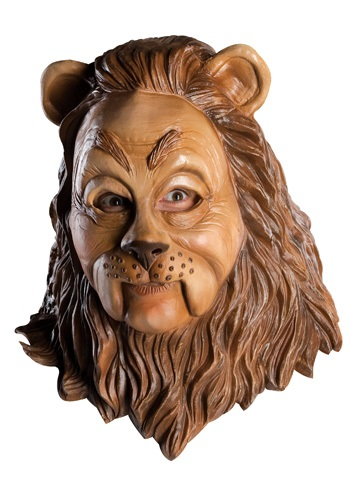 Click Here to buy Latex Cowardly Lion Mask from HalloweenCostumes, CDN Funds & Shipping