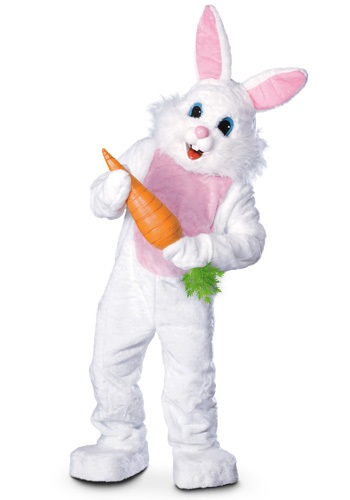 Click Here to buy Mascot Easter Bunny Costume - Adult Bunny Costumes from HalloweenCostumes, CDN Funds