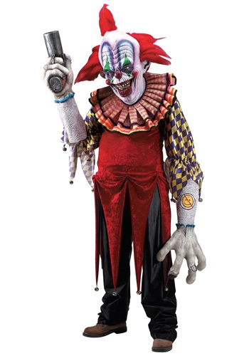 Click Here to buy Giggles the Clown Creature Reacher Costume from HalloweenCostumes, CDN Funds & Shipping
