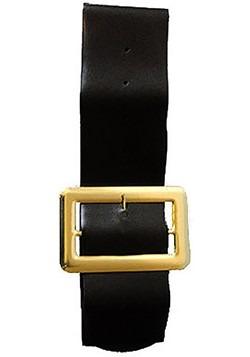Black 4 inch Vinyl Belt