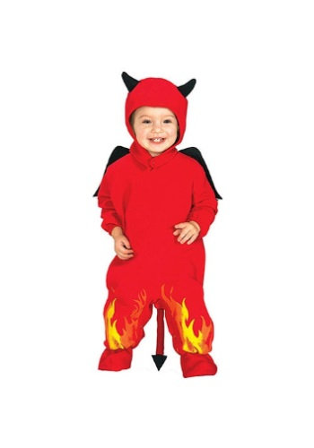 Click Here to buy Lil Devil Baby Costume from HalloweenCostumes, CDN Funds & Shipping