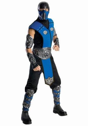 Click Here to buy Mortal Kombat Sub-Zero Costume from HalloweenCostumes, CDN Funds & Shipping