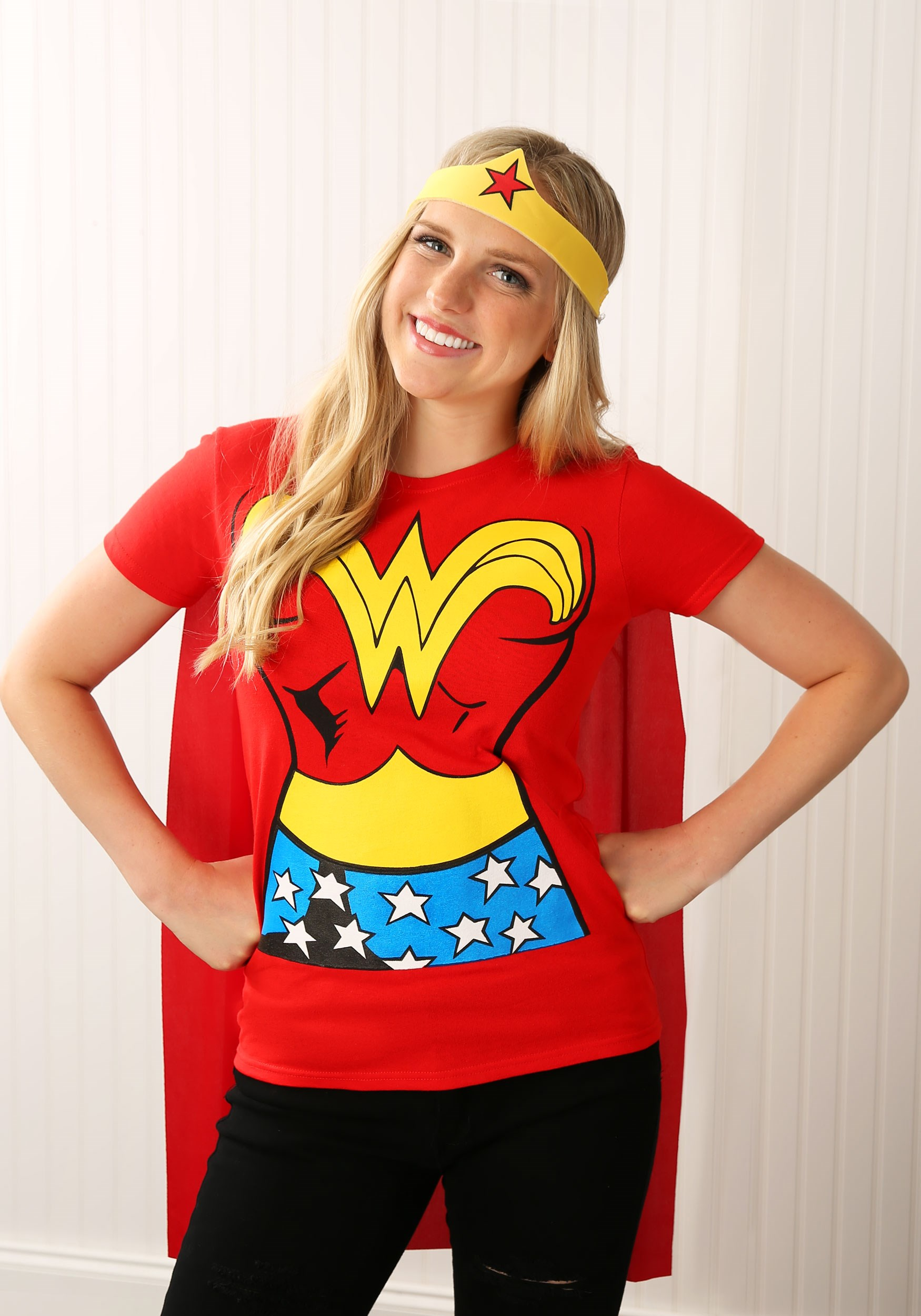 Wonder Woman T,Shirt Costume