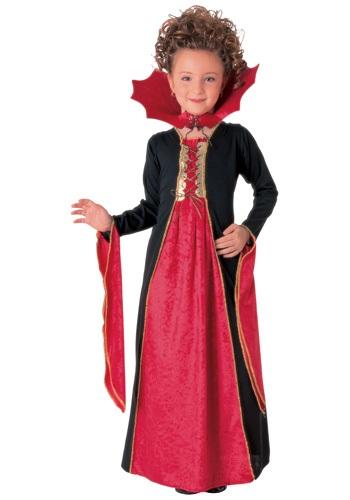 Child Gothic Vampiress Costume