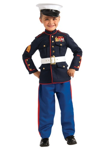 Click Here to buy Kids Marine Uniform Costume from HalloweenCostumes, CDN Funds & Shipping