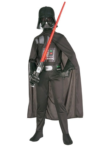 Click Here to buy Kids Darth Vader Costume - Kidsrens Star Wars Halloween Costumes from HalloweenCostumes, CDN Funds & Shipping