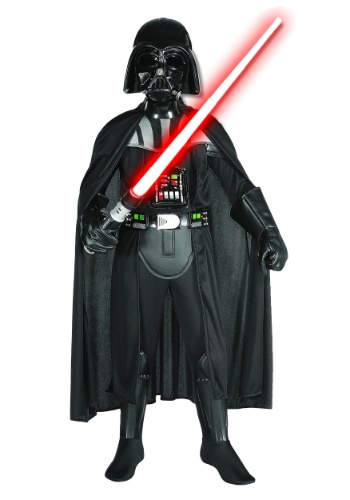 Click Here to buy Kids Deluxe Darth Vader Costume - Boys Darth Vader Costumes from HalloweenCostumes, CDN Funds & Shipping
