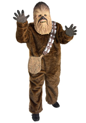 Click Here to buy Kids Deluxe Chewbacca Costume - Kids Star Wars Halloween Costumes from HalloweenCostumes, CDN Funds & Shipping