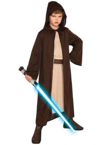 Click Here to buy Kids Jedi Robe - Kids Star Wars Jedi Robe Costume from HalloweenCostumes, CDN Funds & Shipping