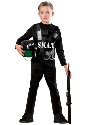 Child SWAT Costume