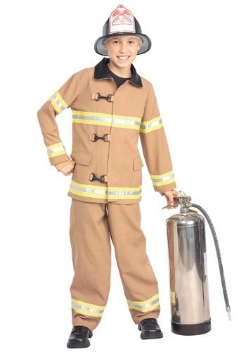 Child Fireman Costume