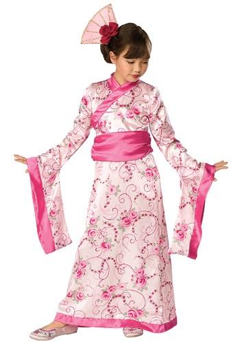 Click Here to buy Kids Kimono Princess Costume from HalloweenCostumes, CDN Funds & Shipping
