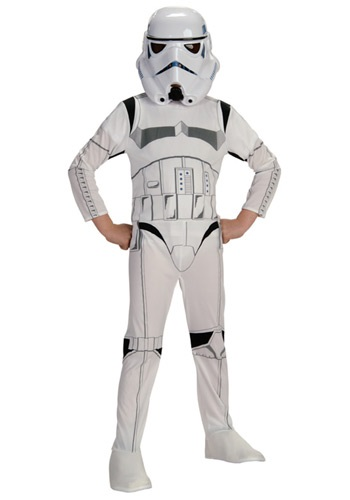 Click Here to buy Kids Stormtrooper Costume from HalloweenCostumes, CDN Funds & Shipping