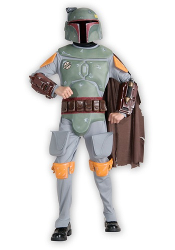 Click Here to buy Kids Deluxe Boba Fett Costume from HalloweenCostumes, CDN Funds & Shipping