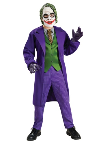 Click Here to buy Deluxe Kids Joker Costume from HalloweenCostumes, CDN Funds & Shipping