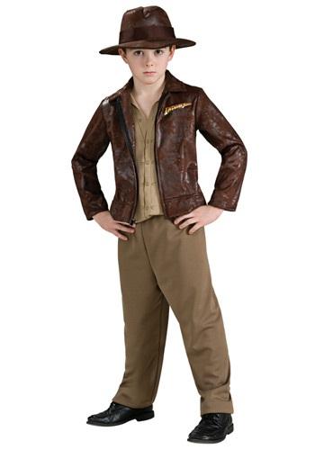 Click Here to buy Deluxe Kids Indiana Jones Costume from HalloweenCostumes, CDN Funds