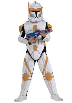 Kids Deluxe Clone Trooper Commander Cody Costume