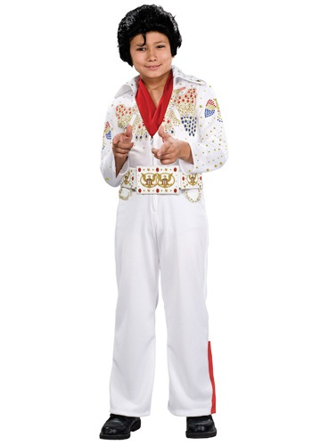Click Here to buy Deluxe Kids Elvis Costume from HalloweenCostumes, CDN Funds & Shipping