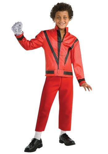 Child Red Thriller Jacket