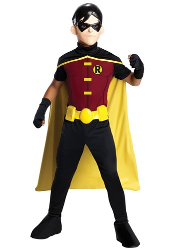 Click Here to buy Kids Robin Costume from HalloweenCostumes, CDN Funds & Shipping