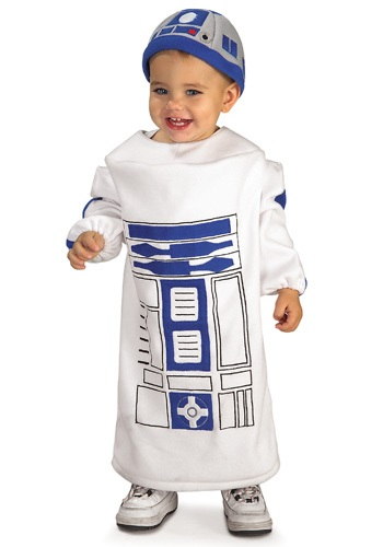 Click Here to buy Baby R2D2 Costume from HalloweenCostumes, CDN Funds & Shipping