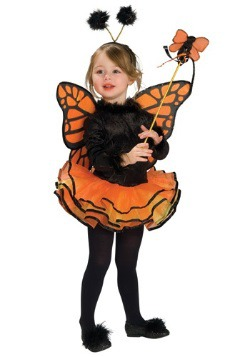 Girls Tutu Butterfly Costume