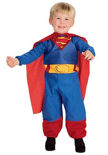 Click Here to buy Baby & Toddler Superman Costume from HalloweenCostumes, CDN Funds & Shipping