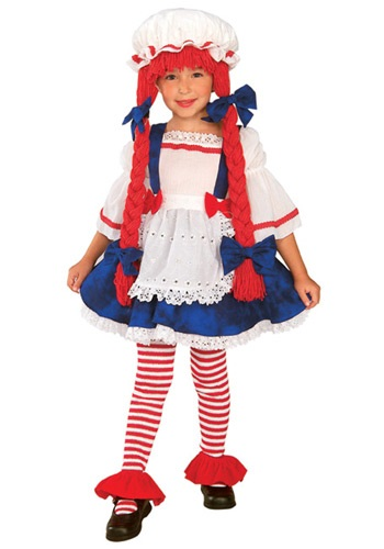 Click Here to buy Toddler Rag Doll Costume from HalloweenCostumes, CDN Funds & Shipping
