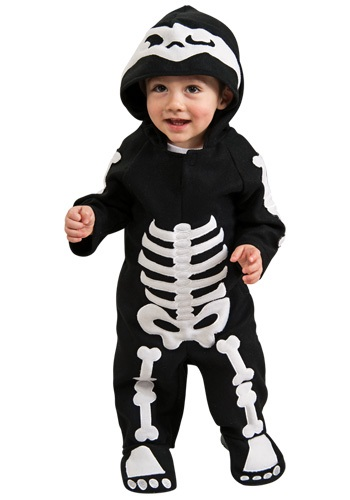 Click Here to buy Baby & Toddler Skeleton Costume from HalloweenCostumes, CDN Funds & Shipping