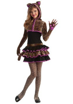 Tween Leopard Costume