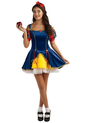 Click Here to buy Teen Snow White Costume from HalloweenCostumes, CDN Funds & Shipping