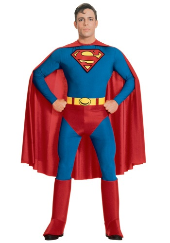 Click Here to buy Adult Superman Costume from HalloweenCostumes, CDN Funds & Shipping